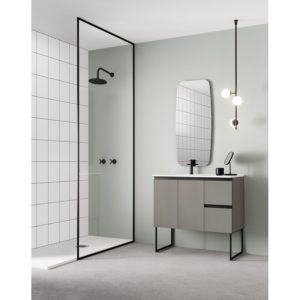 Mueble con lavabo mineralmarmo - Structure - Royo Group
