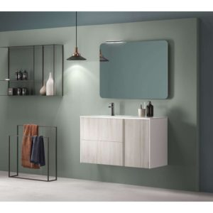 Conjunto mueble + lavabo - GO ON - Royo Group